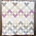 Finish: Radiant Orchid Weave Quilt