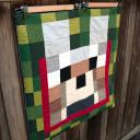 Finish: Minecraft Pillow